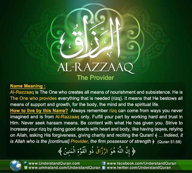 Name_18_Al-Razzaaq