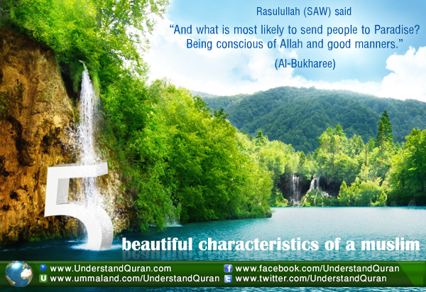 5 beautiful characteristics