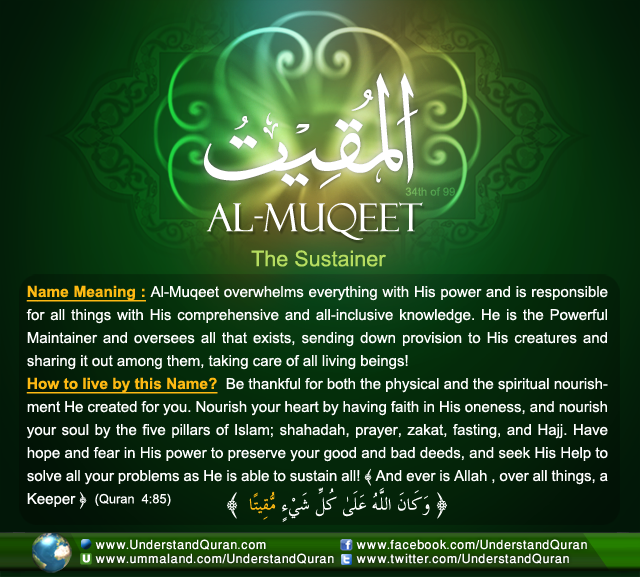 Name_34_Al-Muqeet