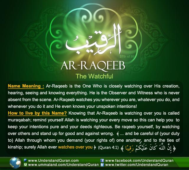 Name_37_Ar-Raqeeb