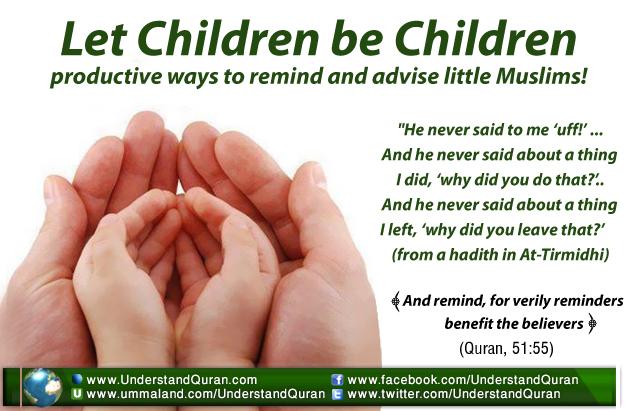 Let Children be Children