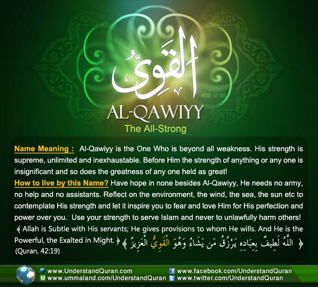 Name_46_Al-Qawiyy