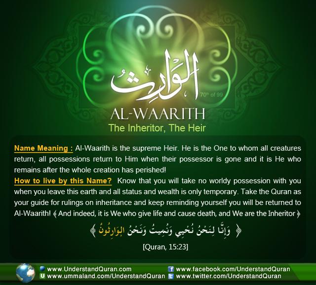 Name_70_ Al-Waarith