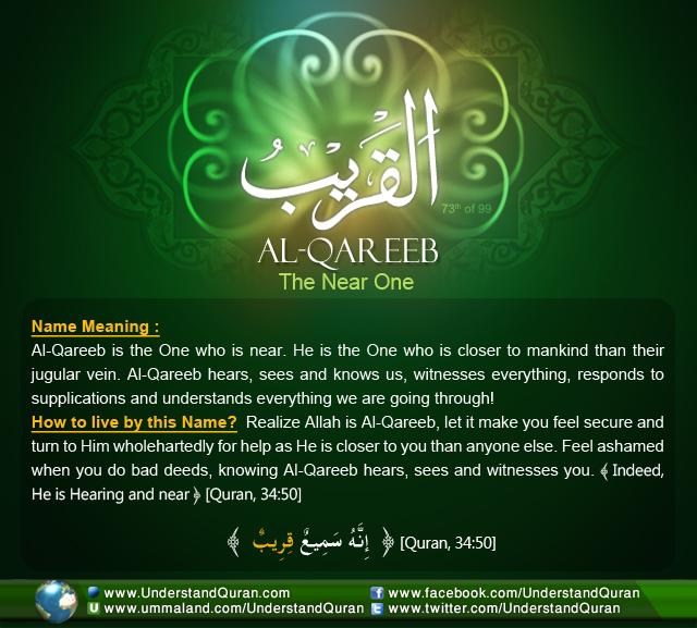 Name_73_Al-Qareeb