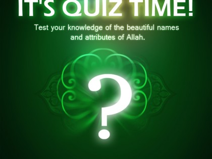 IT'S QUIZ TIME AGAIN!