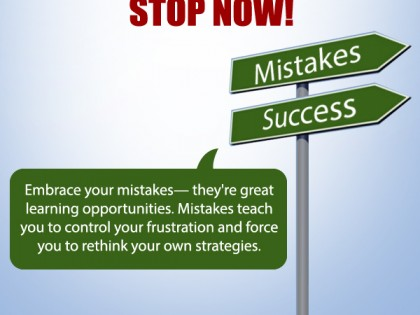 YES, YOUR MISTAKES can help you learn!