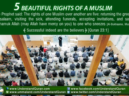 5 Beautiful Muslim Rights