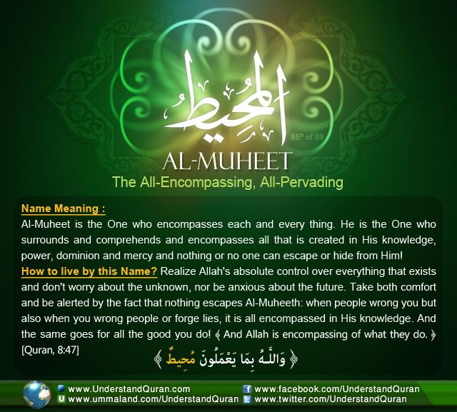 understand-quran-Name_85_Al-Muheet