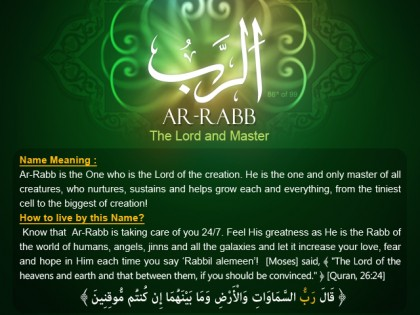 And the Answer is . . . AR-RABB