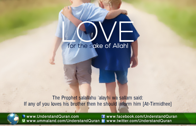 Love For The Sake Of Allah Understand Al Quran Academy