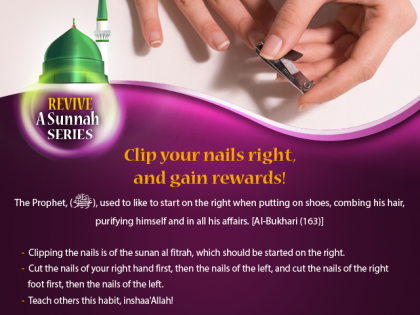 Clip Your Nails the Sunnah Way