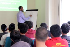 Teaching the UQA method in Jakarta